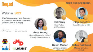 roq.ad webinar transparency consent and adtech future